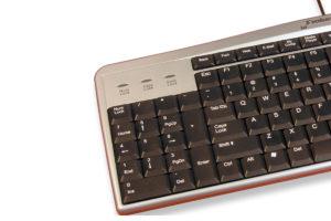 Evoluent linkshandig toetsenbord (bedraad)