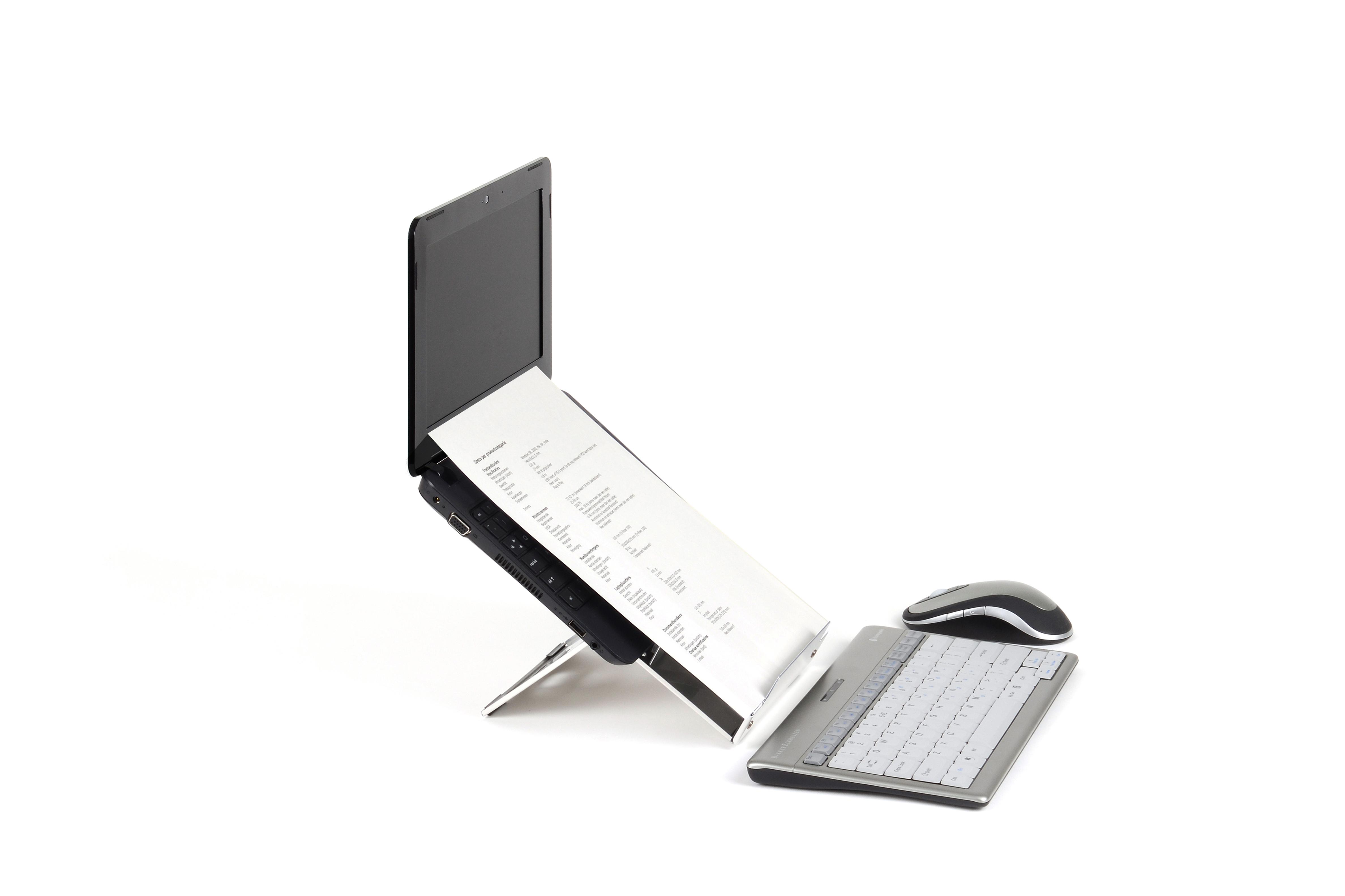 laptophouder ergo q. Black Bedroom Furniture Sets. Home Design Ideas
