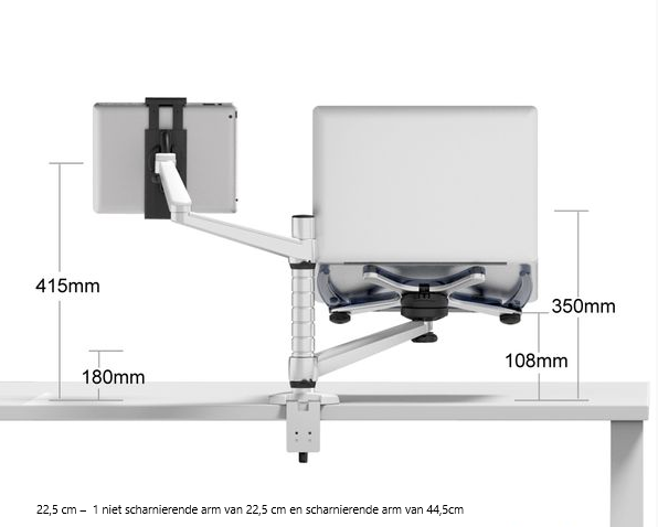 ErgoLine Laptop/tablet arm OA-9