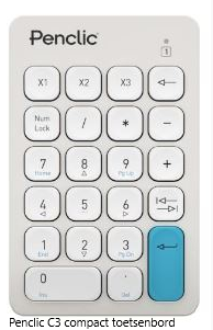 Penclic C3 compact toetsenbord
