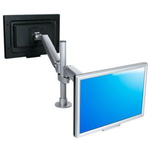 ErgoMaster dubbele monitorarm