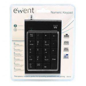 Ewnet Zwart numeriek toetsenbord USB