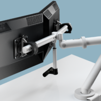Colebrook Bosson Saunders Flo Plus Dual Monitor arm