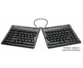 FreeStyle 2 splitsbaar ergonomisch toetsenbord