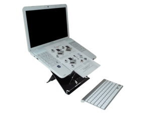 UPRISE Laptop Solution, van ergonomic cafe
