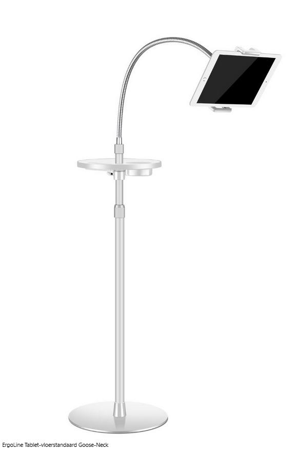 ErgoLine Tablet-vloerstandaard Goose-Neck