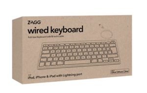Lightning Keyboard Wired UK