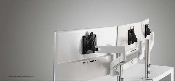Colebrook Bosson Saunders Lima dubbele monitor arm