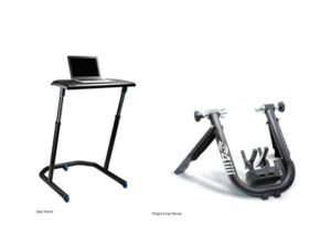 Wahoo Desk Trainer + Fliiiight Smart Trainer
