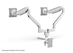 Humanscale monitorarm M2.1 dual klem