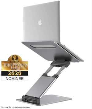 ErgoLine Tall zit-sta laptopstandaard